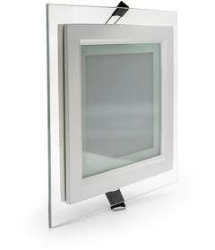 Светильник Glass panel light 6W 2700K 100*100 IP20